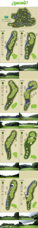 均安碧桂园高尔夫球场1~8号洞